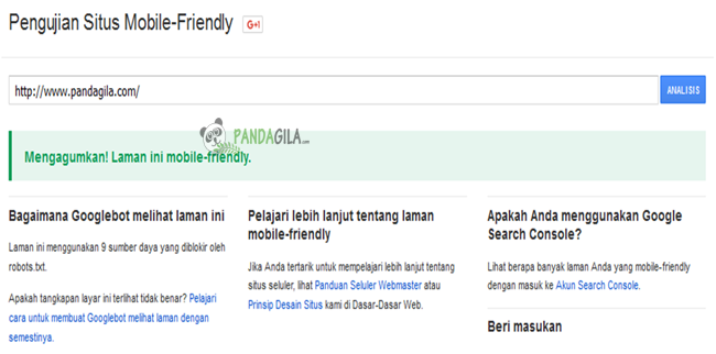 mobile friendly, responsive