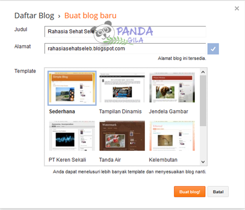 blogger, blogspot, membuat blog, cara membuat website, website gratis, blog