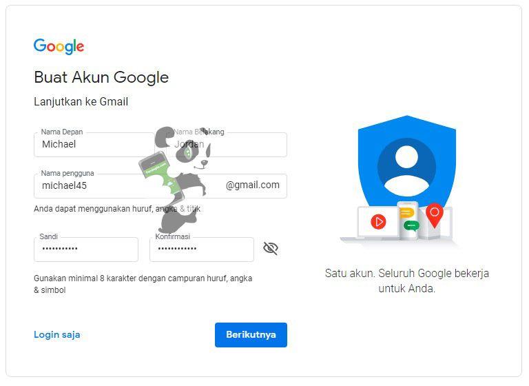 Tutorial membuat email di Gmail/ Google Mail