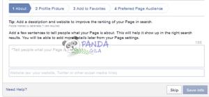 membuat fanspage, fanspage facebook, halaman facebook