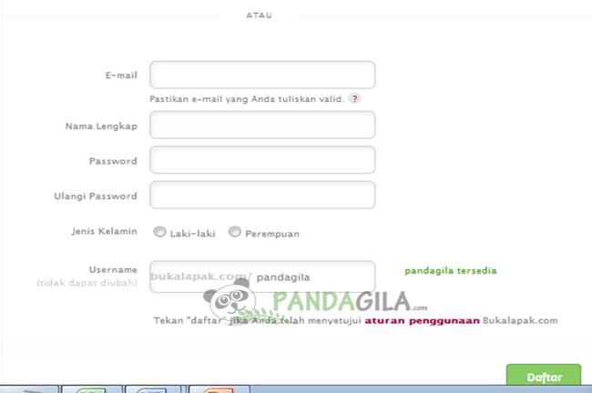 bukalapak, marketplace, toko online, form pendaftaran