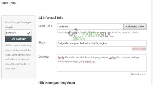tokopedia, mendaftar, penjual, pembeli, member, buka toko, data toko online Anda