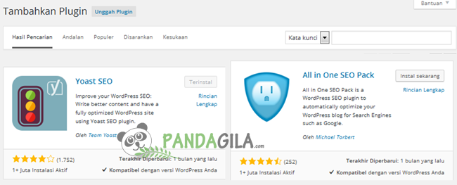 plugin SEO, WordPress, SEO, Yoast, All in One SEO Pack