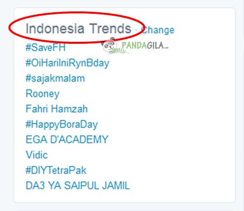 trending topik, twitter, konten, ide