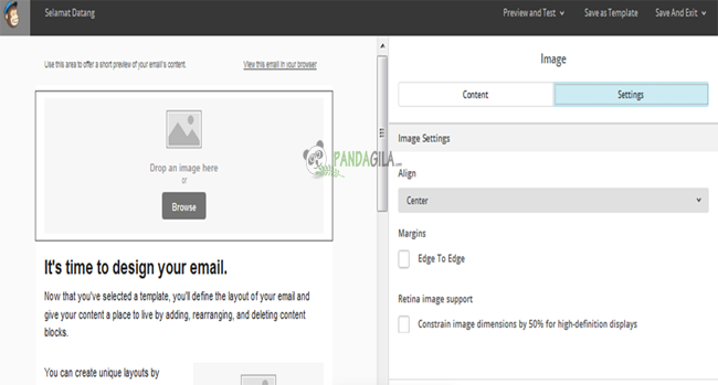newsletter, desain email, Mailchimp