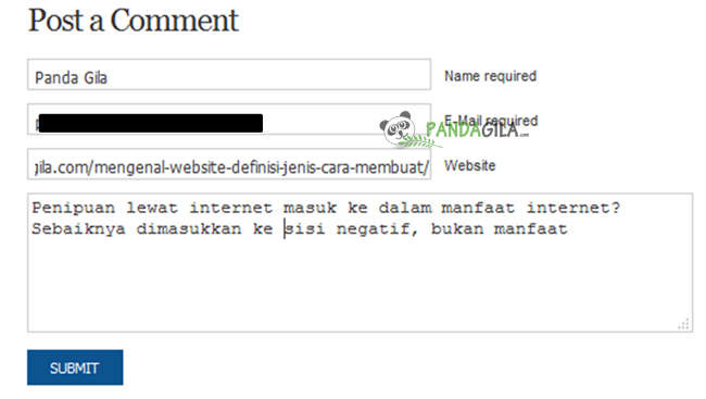 blog commenting, cara berkomentar
