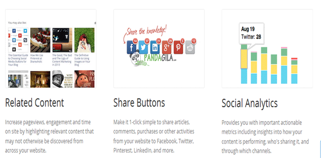plugin sosial media, shareaholic, sharing button