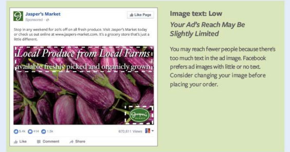 teks,gambar,facebook,facebook ads,low