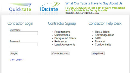 Quicktate or iDictate,kerja online,kerja dari rumah