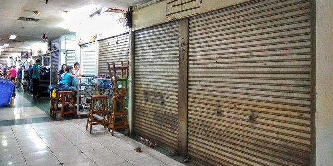 Pasar Glodok kini sepi ditinggal pembeli