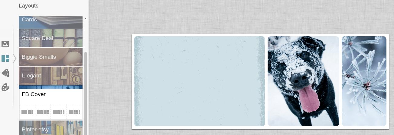 Interface PicMonkey