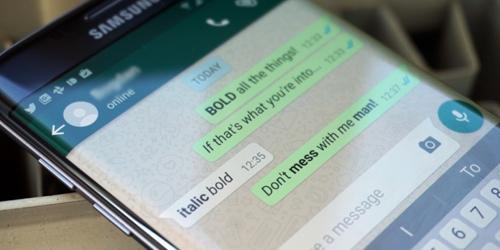 Cara Membuat Tulisan di WhatsApp Jadi Tebal, Miring dan Garis Coret