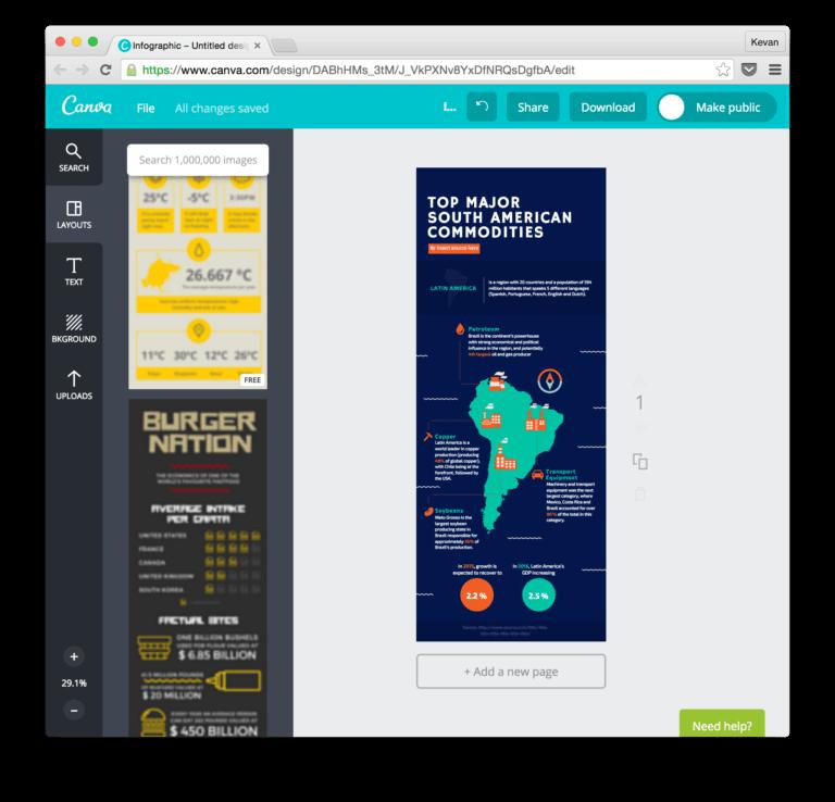 Canva, tool untuk membuat konten grafis