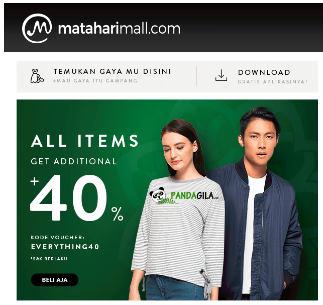 Email Marketing Matahari