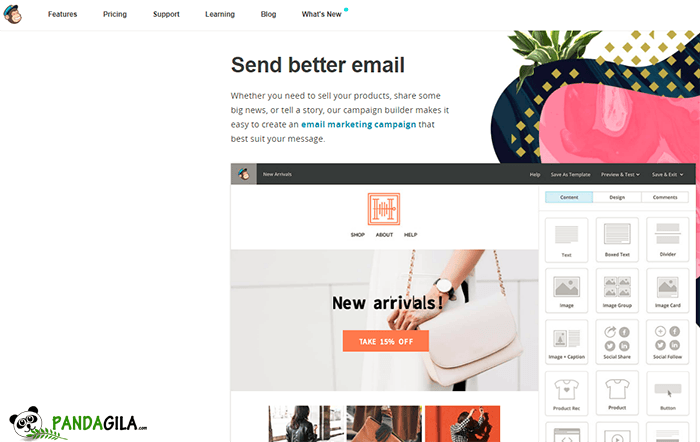 Layanan email marketing Mailchimp