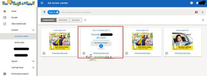 Cara blokir Iklan Dewasa Google Adsense