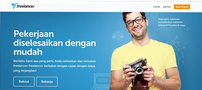 Freelancer Indonesia - Situs Freelance Terbaik dan Terpercaya di Indonesia