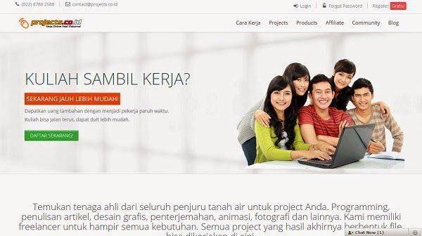 Projects.co.id - Situs Freelance Terbaik dan Terpercaya di Indonesia