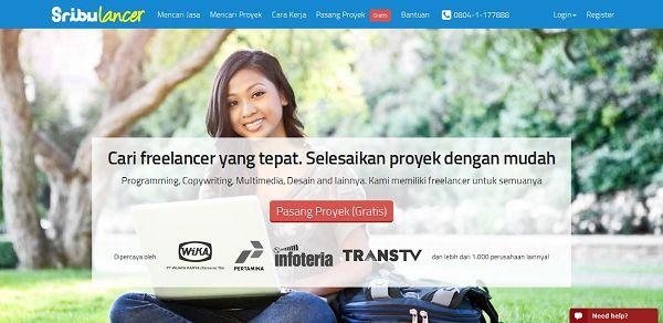 Sribulancer, Situs Freelance Terbaik dan Terpercaya di Indonesia
