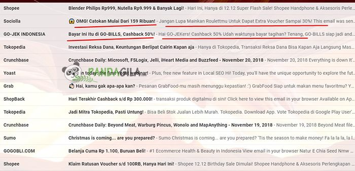 Tips dalam membuat subyek email marketing