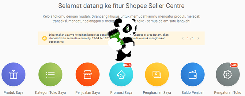 Seller Center Shopee