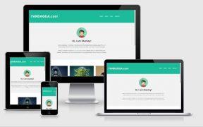 Theme website responsive terbaik