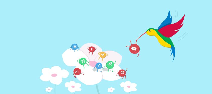 Pembaruan algoritma Google Hummingbird