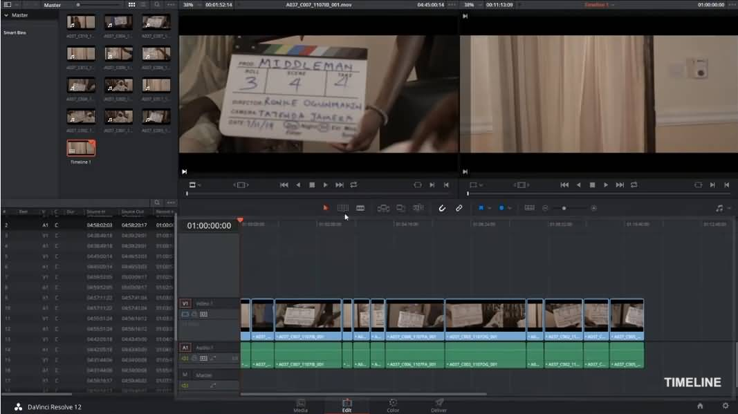 Davinci Resolves, software video editor gratis tanpa watermark