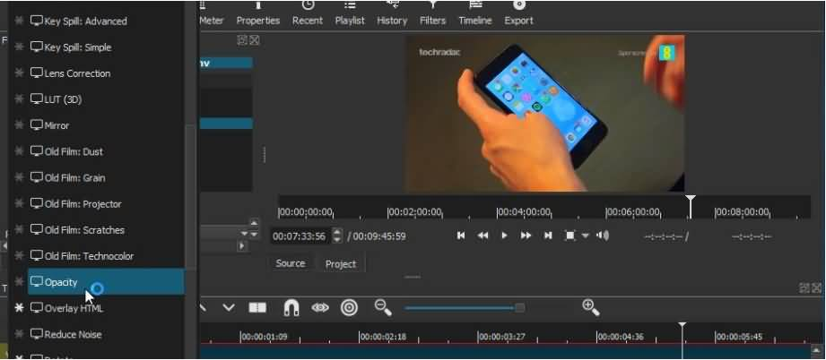 Shotcut, video editor gratis tanpa watermark