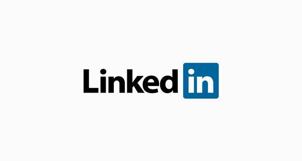 Font logo linkedin